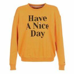 Tommy Jeans  TJW HAVE A NICE DAY SWEATSHIRT  women's Sweatshirt in Yellow