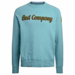 Best Company  turquoise and green roundneck fleece  women's Sweatshirt in Other