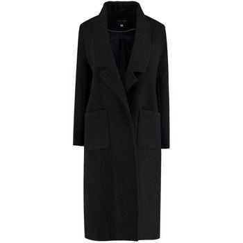 De La Creme  Winter Long Coat  women's Coat in Black