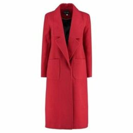De La Creme  Winter Long Coat  women's Coat in Red