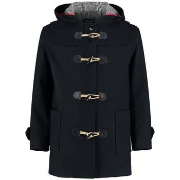 De La Creme  Winter Hooded Duffle Wool Coat  women's Coat in Black