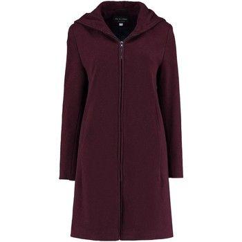 De La Creme  Cashmere Wool Hooded Winter Coat  women's Coat in Red