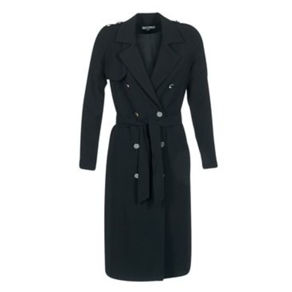 Morgan  GIRA  women's Trench Coat in Black
