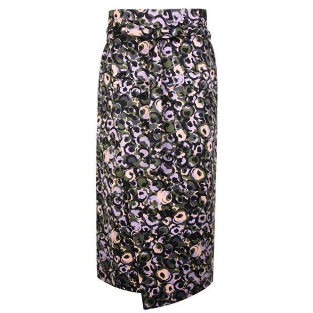 Marni Floral Wrap Skirt