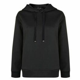 Emporio Armani Sequin Logo Hooded Sweatshirt