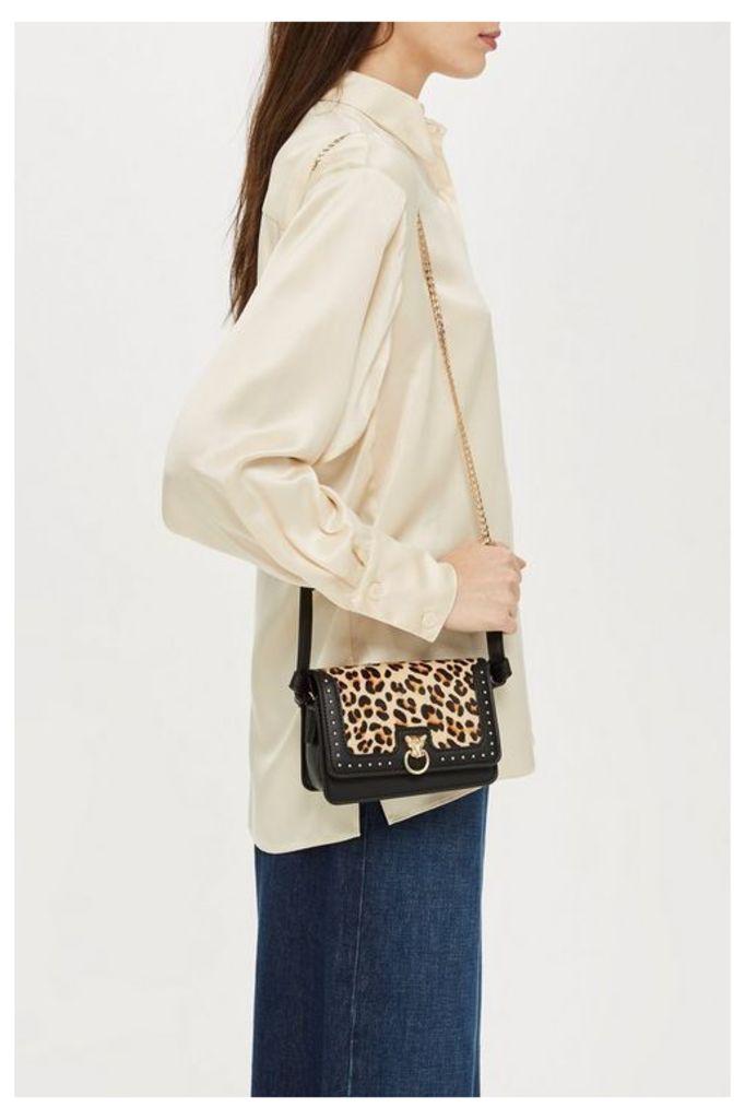 Womens Panther Pony Cross Body Bag - True Leopard, True Leopard