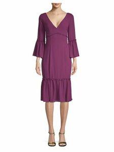 Laurelwood Bell-Sleeve Dress
