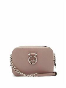 Christian Louboutin - Rubylou Mini Leather Cross Body Bag - Womens - Light Pink