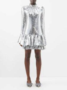 Raey - Oversized Brushed Twill Blazer - Womens - Blue