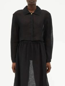 Gabriela Hearst - Francisca Silk Shantung Dress - Womens - Light Pink