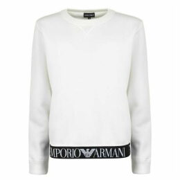 Emporio Armani Tape Logo Sweatshirt