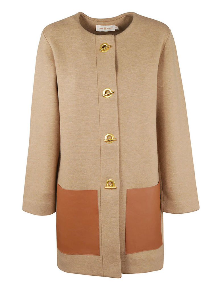 Tory Burch Patch Pocket Duffle Coat