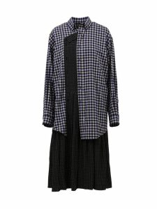 Balenciaga Patchwork Style Dress