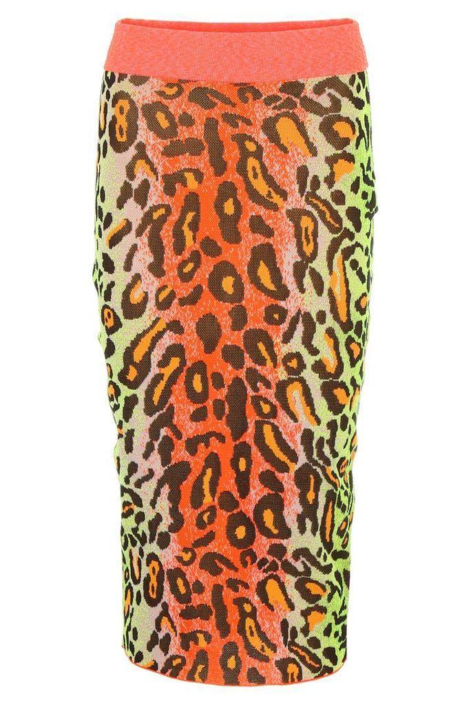 Stella McCartney Leopard-printed Skirt