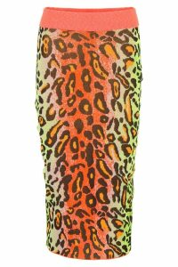 Stella McCartney Leopard-printed Skirt