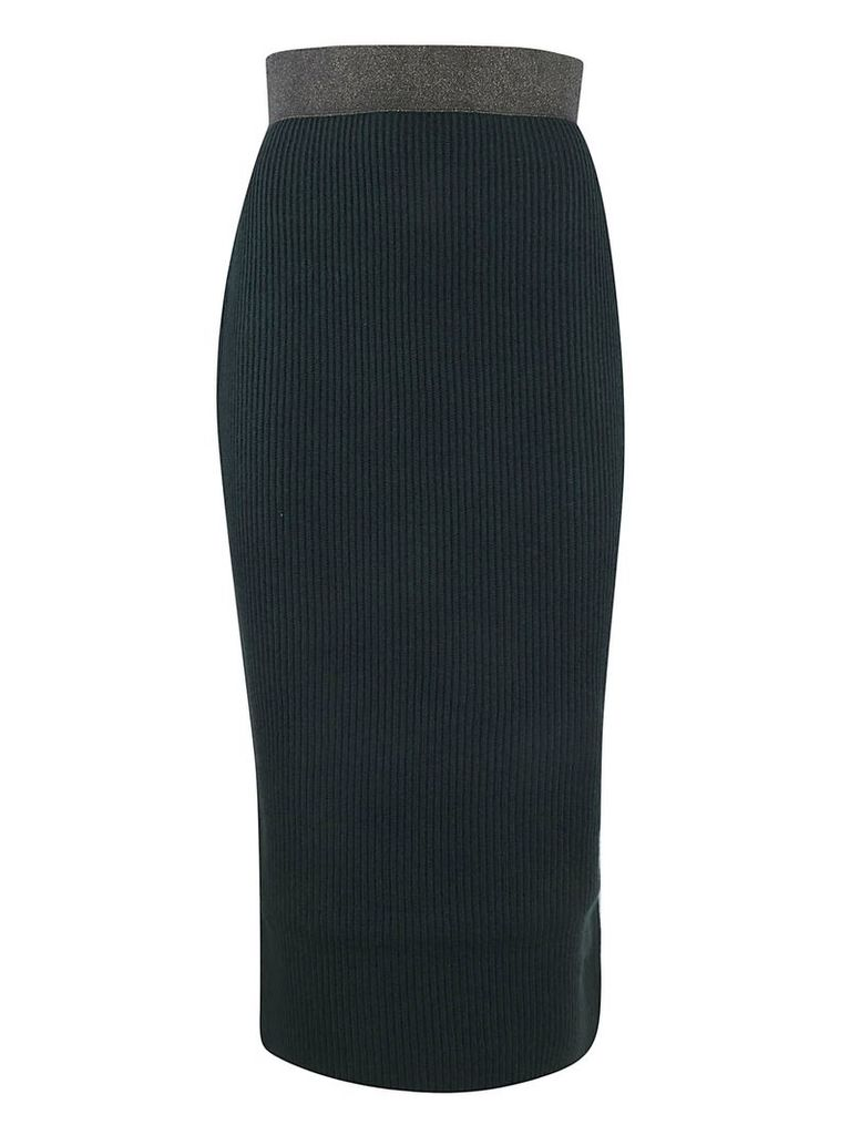 Fabiana Filippi Ribbed Skirt