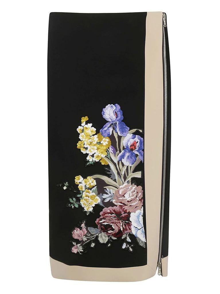 Sportmax Floral Skirt