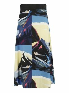 Sportmax Printed Skirt