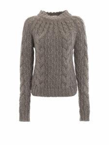 Saint Laurent Cable Knit Sweater