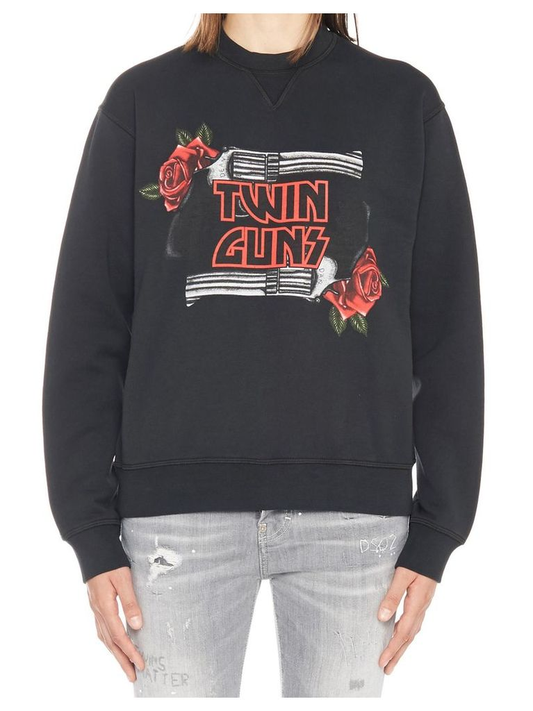 Dsquared2 'twin Guns' Sweatshirt