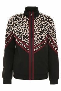 N.21 Track Jacket With Leopard Print