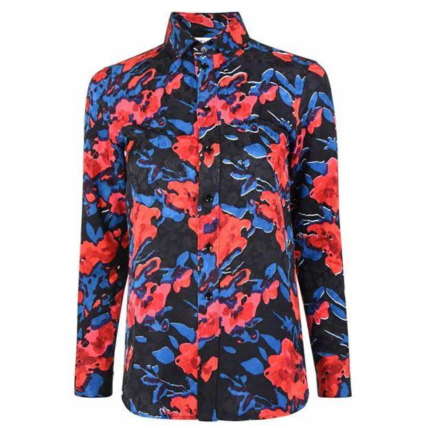 SAINT LAURENT Floral Classic Shirt