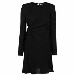 Saint Laurent Jacquard Midi Dress