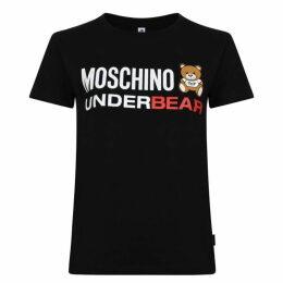 Moschino Underwear Underbear Short Sleeved T Shirt