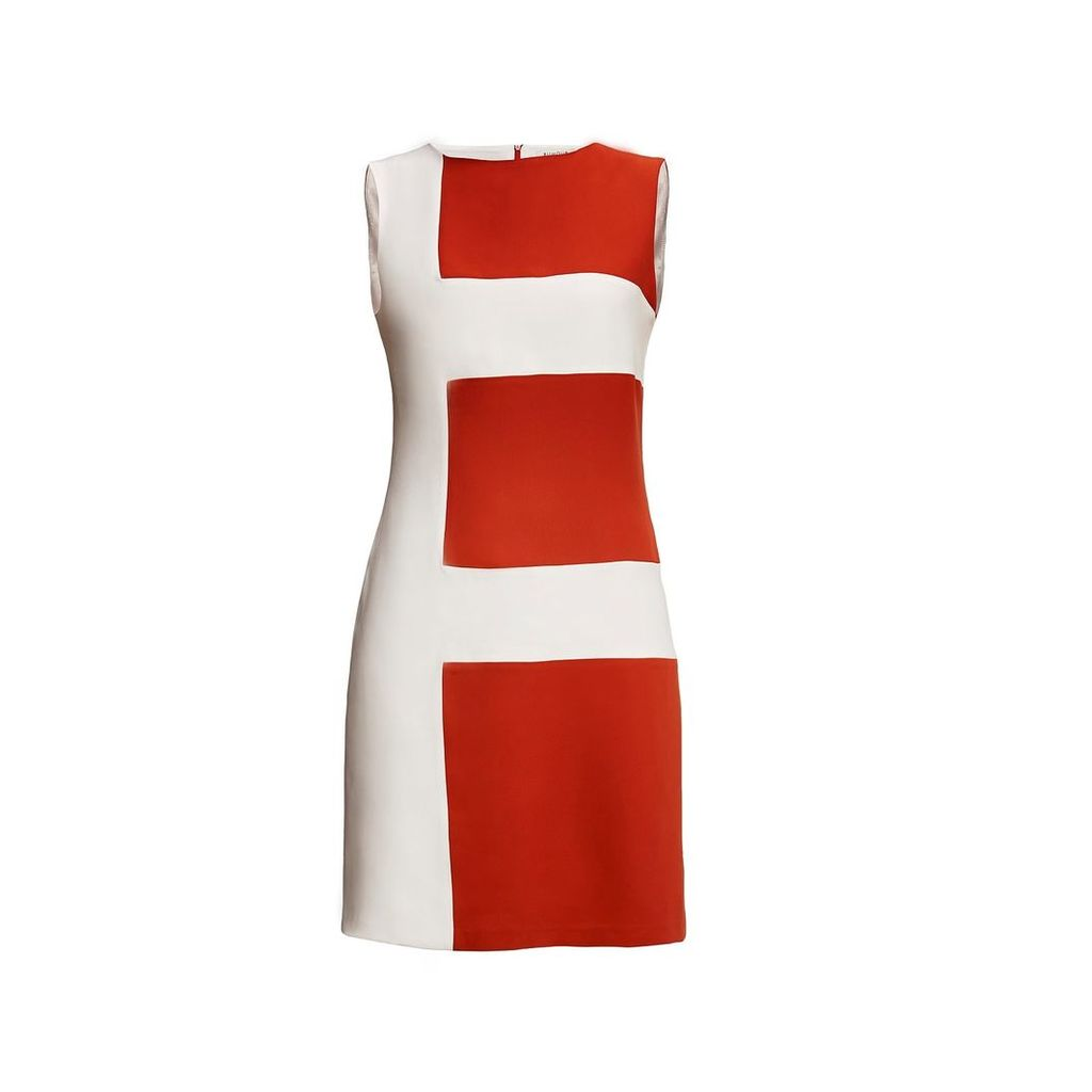 Rumour London - Marie Striped Silk Sleeveless Dress