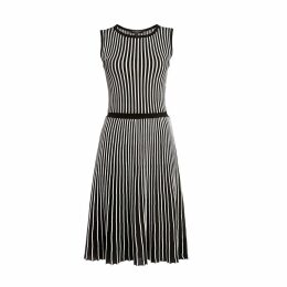 Rumour London - Sienna Striped Fit-And-Flare Dress
