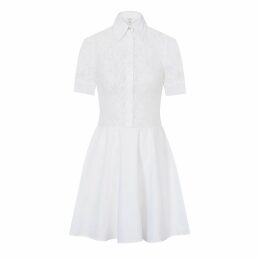 Rumour London - Venice Satin Cotton Belted Flared Dress
