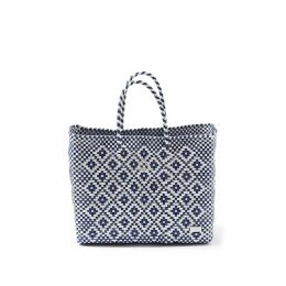 MUZA - Single Breasted Denim Trench Coat