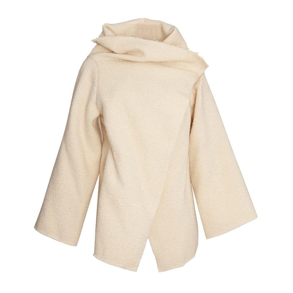 K M by L A N G E - Babushka Wool Coat