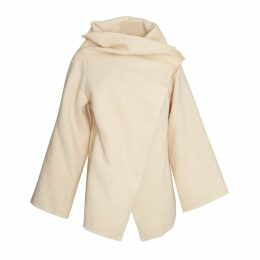 K M by L A N G E - Babushka Wool Coat