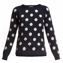 Rumour London - Emmy Long Sleeve Polka Dot Jumper