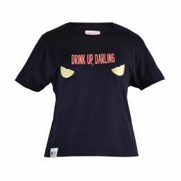 Rumour London - Lulu Tie-Back Cotton & Modal Jumper with Metallic Stripe