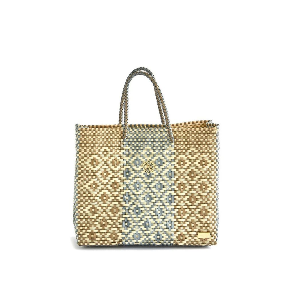 MUZA - Fringed Denim Skirt With Asymmetric Hem