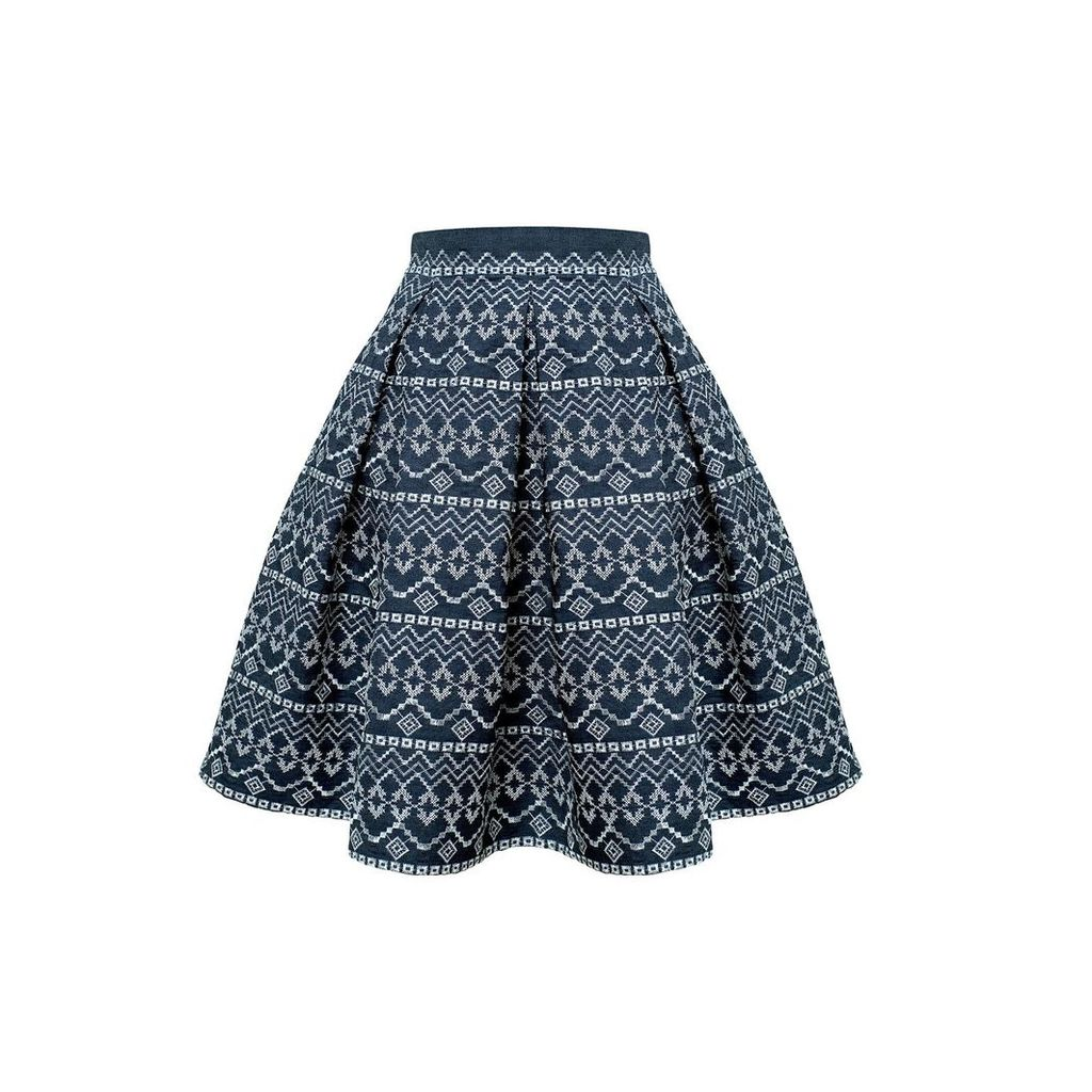 Rumour London - Anna Embroidered Flared Skirt