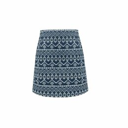 Rumour London - Molly Embroidered Mini Skirt