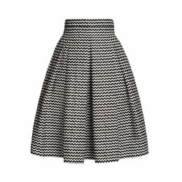 Rumour London - Ravello Chevron Midi Skirt