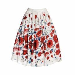Rumour London - Poppy Floral Print Midi Skirt