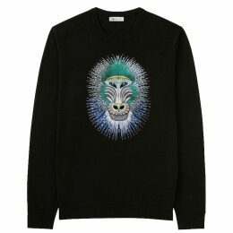 Rumour London - Penelope Black Pleated Two-Tone Midi Skirt