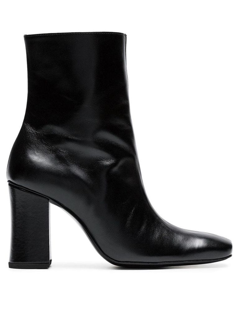 Dorateymur black Sybil 90 leather boots