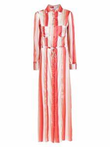 Amir Slama silk beach dress - Multicolour