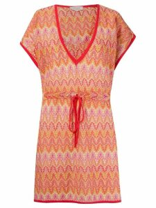 Brigitte knit beach dress - Yellow