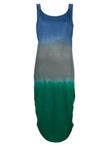 Tara Matthews Propriano colour block beach dress - Blue