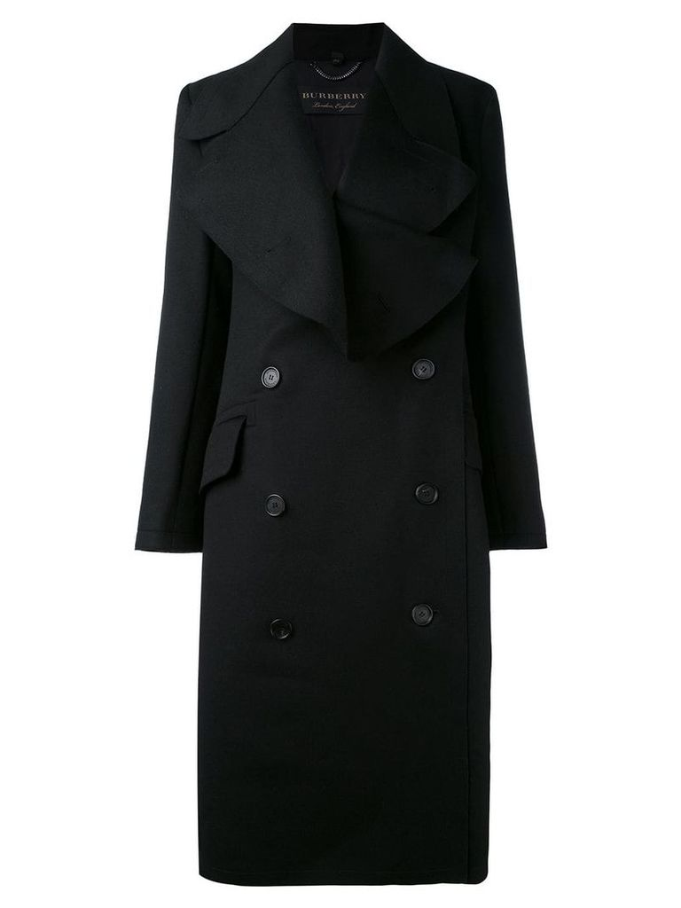 Burberry double-breasted coat - Black