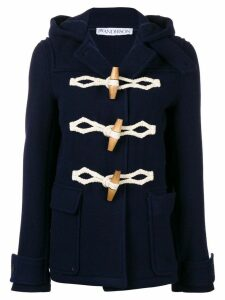 JW Anderson hooded duffle coat - Blue