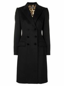 Dolce & Gabbana double-breasted coat - Black