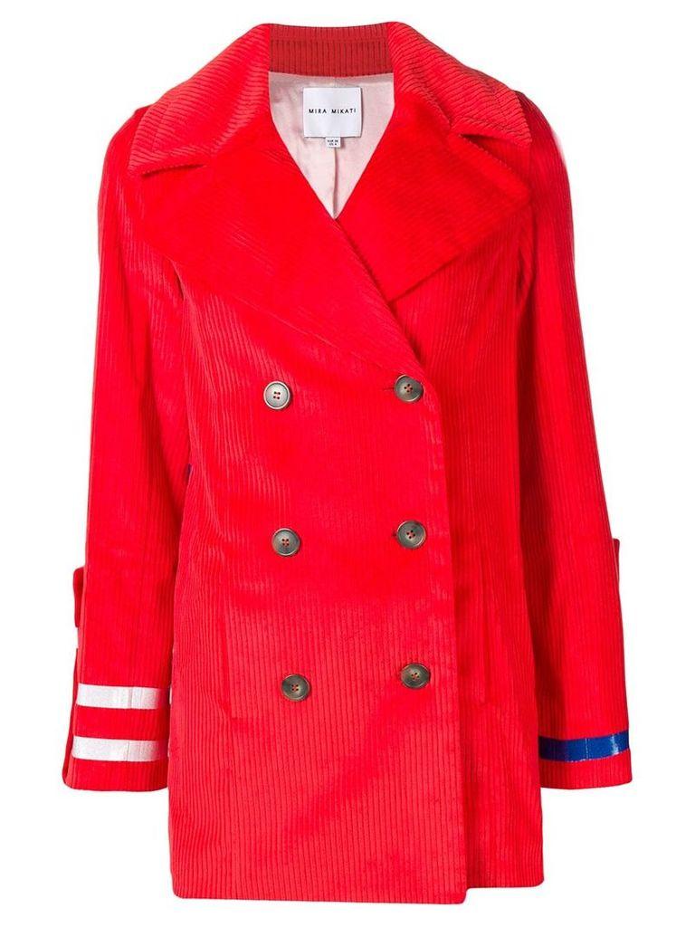 Mira Mikati Burn Fat Not Fuel coat - Red